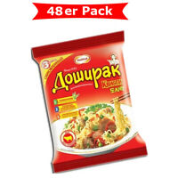 Instant Nudeln Doschirak mit Rindfleischgeschmack 48er Pack (48 x 70g)