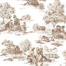 Dieter Bohlen By P+S Cream/Brown Landscape Cottage Wallpaper (13160-30)