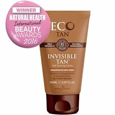 Eco Tan Organic Invisible Tan - Vegan Self Tan (150ml) Sunless Tanning
