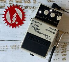 Boss NS-2 Noise Suppressor Gate Alchemy Audio Modified Guitar Effects Pedal
