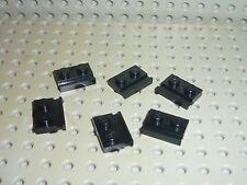 6 pieces LEGO black plate 32028 / set 3741 10194 10133 7161 4535 8479 7666 4483
