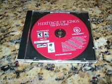 Heritage Of Kings Settlers (PC, 2005) Game Windows