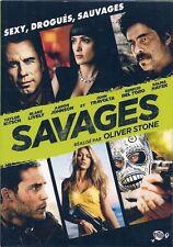 DVD ZONE 2--SAVAGES--KITSCH/TRAVOLTA/DEL TORO/HAYEK/STONE/JOHNSON--NEUF