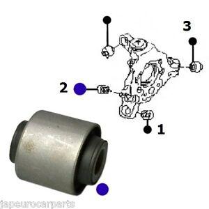 For FORD GALAXY 06-11 REAR ARM WHEEL HUB STUB AXLE / KNUCKLE ROSE BUSH X1
