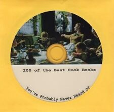 200 surprisingly good Cook Books on 1 CD for less than 4 cents per Cook Book