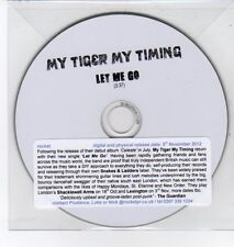 (DQ334) My Tiger My Timing, Let Me Go - 2012 DJ CD