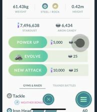 Pokemon Go - 50 Candy (Nesting Pokemon)