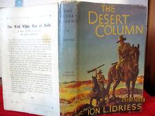 Ion L Idriess THE DESERT COLUMN 1951 HCDJ Gallipoli Sinai Palestine AUSTRALIAN