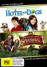 HOTEL FOR DOGS + THE SPIDERWICK CHRONICLES - BRAND NEW & SEALED 2-DISC DVD REG.4