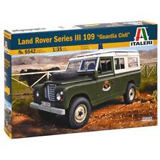 ITALERI Land Rover 109 Guardia Civil 6542 1:35 Military Model Kit