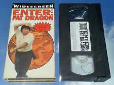 ENTER THE FAT DRAGON (VHS 1998) RARE KUNG FU B COMEDY / BRUCE LEE PARODY, TESTED