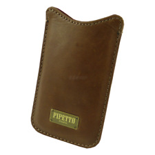 Pipetto - Luxury Pouch - Apple - iPhone 4 4s - Case - Hülle - Leder - braun