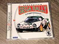 Sega Rally Championship 2 Sega Dreamcast Complete CIB Authentic