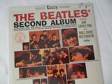 BEATLES__SEALED__Original 2nd Album LP__Capitol Dome__ST-2080 #12__EX++
