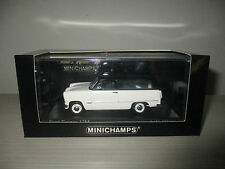 FORD TAUNUS 12M 1957 WHITE (400 085610) MINICHAMPS SCALA 1:43