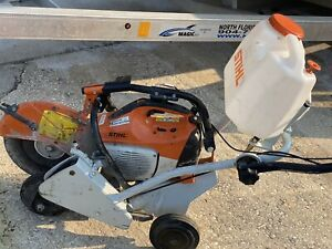 Stihl concrete cut off saw ts 420 With The FW 20 STIHL Cutquik Cart TS 400 Kit