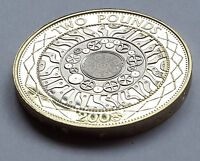 2008 PROOF £2 Standing on the shoulders of giants two pounds British industry