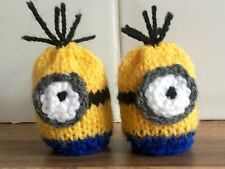 EASTER MINION  KNITTING PATTERN  TO COVER /COSY CREME EGG   FUND RAISER CHARITY