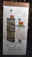 "Dept 56 Christmas in the City Retired  ""THE TIMES TOWER"" #55510-BRAND NEW/BOX"