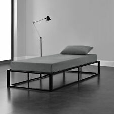 B-WARE Metallbett 90x200cm Schwarz Bettgestell Design Bett Schlafzimmer Metall