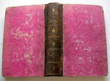 1802 STACE SILVES THEATRE LATIN/FRANCAIS +NOTES POESIE ODE ITALIE LIVRE OLD BOOK