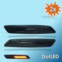 LED Seitenblinker Blinker SCHWARZ passt für BMW E60 E61 E81 E82 E87 E88 E90 23S