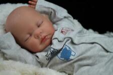 LOVELY REBORN MOLLY - HARRY - PAINTED HAIR - BABY BOY DOLL -  NUBORNZ NURSERY