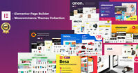 Elementor Pro + Woocommerce Themes Collection - Elementor Compatibility -