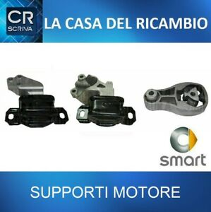 KIT 3 SUPPORTI MOTORE MALO' SMART FOR TWO COUPE' 1.0 (451)