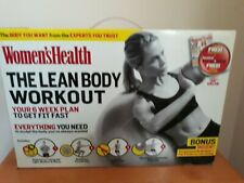 Women's Health The Lean Body Workout Dvd Training System Kit Included Ball