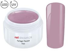 UV Farbgel Pastell Gel Flieder 5ml French Color Modellage Nailart NAILDESIGN