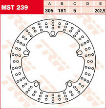 TRW Brake Disc Front With ABE For