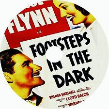 Footsteps in the Dark DVD Errol Flynn Brenda Marshall 1941 V rare