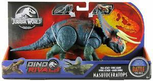 *NASUTOCERATOPS* Jurassic World Dino Rivals Dual Attack BATTLE AT BIG ROCK NEW