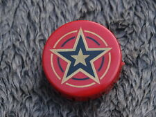 Pinball SPACE SHUTTLE ZACCARIA Red Gold Star bumper cap Plastic Original Flipper