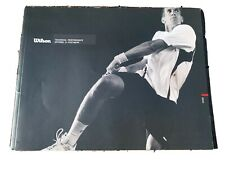 2010 Wilson Sporting Goods Tennis Catalog Illustrated Technical Apparel Footwear