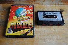 Jeu loriciels INVADERS pour ORIC / ATMOS (cassette)