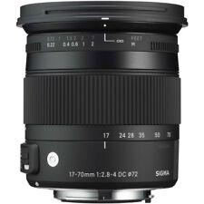 "Sigma 17-70mm f2.8-4 DC Macro OS HSM ""C"" lente-NIKON Fit"