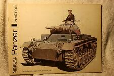 Panzer III in Action Squadron Signal Book # 2001 Good Condition