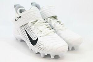 Nike Alpha Menace Pro 2 Mid Men's White Sneakers 7M(ZAP10050)