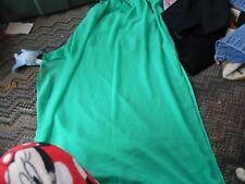 Womens  Divided green see thru long skirt size 6