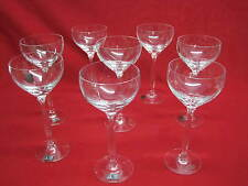 Spiegelau Crystal Glasses SET OF 8 Mundgeblasen Hand Crafted Mouth Blown Germany