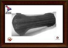 Archery Suede Arm Guard Unisex Size:19cm Long x8cm  2 Straps-- Black Suede/