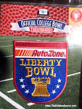 Licensed NCAA College Football Liberty Bowl 2017/18 Patch Iowa State & Memphis