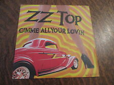 45 tours zz top gimme all your lovin