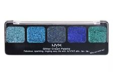 NYX Cosmetics Glitter Cream Palette, Ocean Breeze