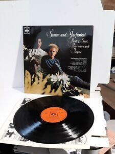 Simon and Garfunkel Parsley Sage Rosemary and Thyme A1B1 Matrix 12 Inch record