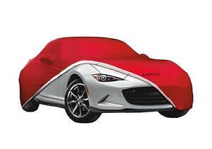 Genuine Mazda MX-5 Car Cover Indoor 0000-8J-D05 (2016-2020 Mazda MX-5)