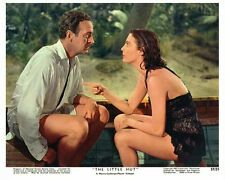 THE LITTLE HUT color still AVA GARDNER & DAVID NIVEN - (b881)