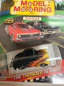 MODEL MOTORING T-JET Ltd Ed. WILLY'S HO slot car blister pk runs on aurora